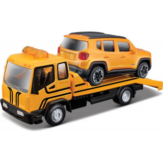 Bburago odtahovka s Jeep Renegade 1:43