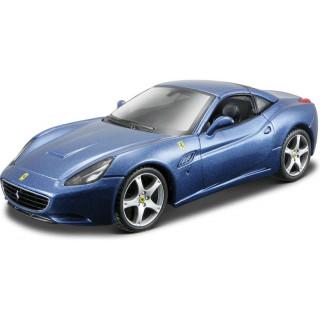 Bburago Ferrari California 1:32 modrá metalíza