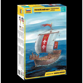 Model Kit loď 9018 - Hansa Kogge (1:72)
