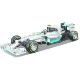 Bburago Mercedes F1 W05 Hybrid 1:32 NO6 Rosberg