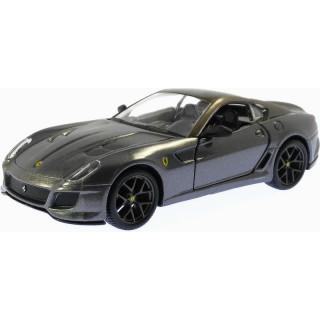 Bburago Ferrari 599 GTO 1:32 metalická šedá