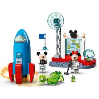 LEGO DUPLO - Myšák Mickey a Myška Minnie jako kosmonauti