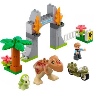 LEGO DUPLO - T-Rex a Triceratops na útěku
