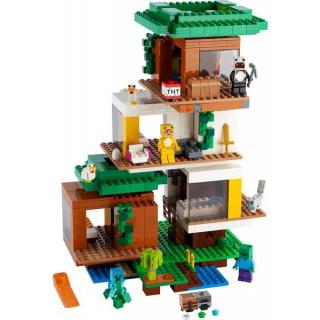 LEGO Minecraft - Moderní dům na stromě