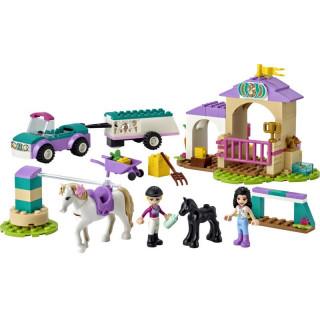 LEGO Friends - Auto s přívěsem a výcvik koníka
