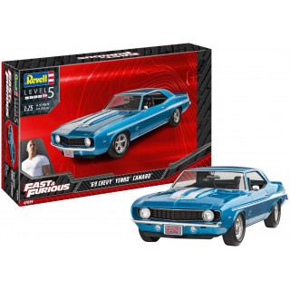 Plastic ModelKit auto 07694 - Fast & Furious 1969 Chevy Camaro Yenko (1:25)
