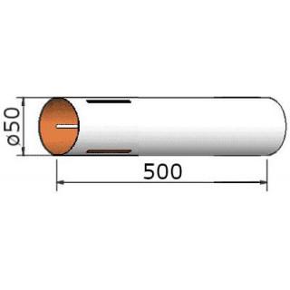 Klima Papírová trubka 50x500mm 3-drážky
