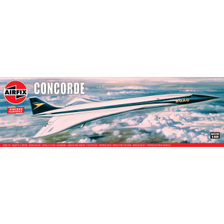 Classic Kit VINTAGE letadlo A05170V - Concorde Prototype (BOAC) (1:144)
