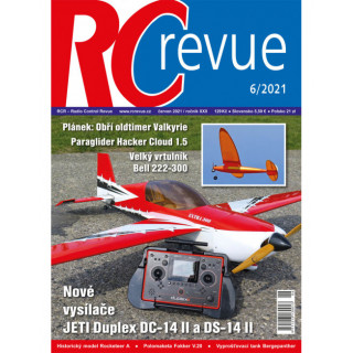 Časopis RC revue 6/2021