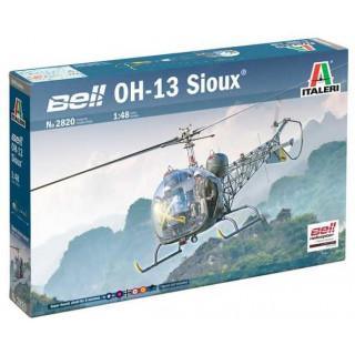 Model Kit vrtulník 2820 - OH-13 Sioux Corean War (1:48)