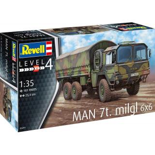 Plastic ModelKit military 03291 - MAN 7t Milgl (1:35)