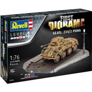 Gift-Set diorama 03298 - Sd. Kfz. 234/2 Puma (1:76)