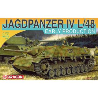 Model Kit military 7276 - JAGDPANZER IV L/48 EARLY PRODUCTION (1:72)