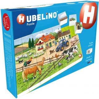 HUBELINO Puzzle - Život na farmě