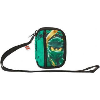 LEGO cestovní peněženka - Ninjago Green