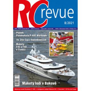 Časopis RC revue 8/2021 / RCRevue