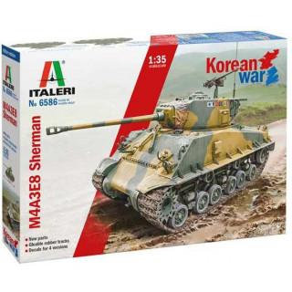 Model Kit tank 6586 - M4A3E8 Sherman Korean War (1:35)
