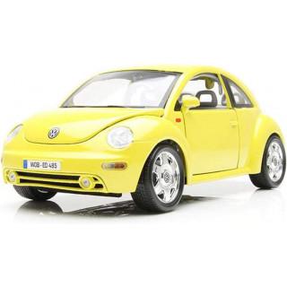 Bburago Volkswagen New Beetle 1998 1:18 žlutá