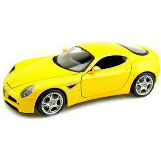 Bburago Alfa Romeo 8C Competizione 2007 1:18 žlutá