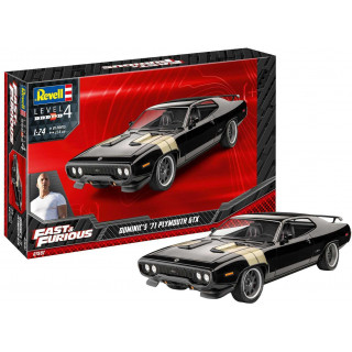 ModelSet auto 67692 - Fast & Furious - Dominics 1971 Plymouth GTX (1:24)