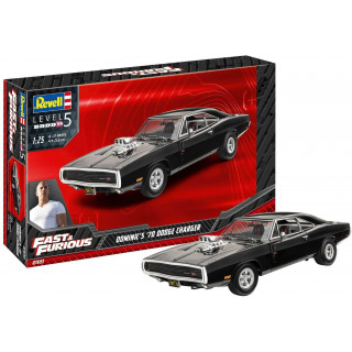 ModelSet auto 67693 - Fast & Furious - Dominics 1970 Dodge Charger (1:25)