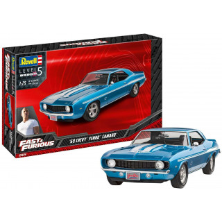ModelSet auto 67694 - Fast & Furious 1969 Chevy Camaro Yenko (1:25)