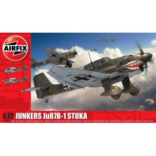 Classic Kit letadlo A03087A - Junkers Ju87 B-1 Stuka (1:72)
