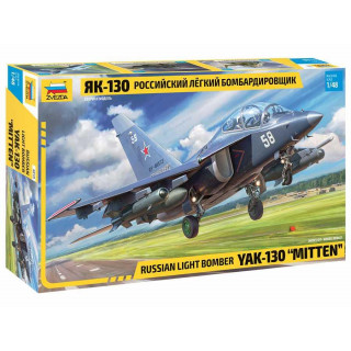Model Kit letadlo 4818 - YAK-130 Russian Light Bomber (1:48)