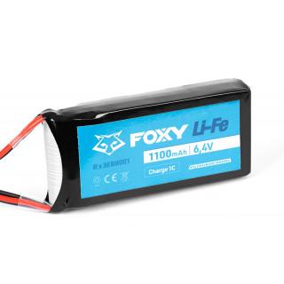 FOXY Li-Fe 1100mAh/6,4V RX