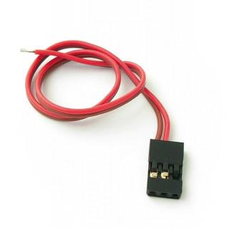JR konektor s kabelem 200mm, 22AWG/0,32mm (samec), 1 ks.