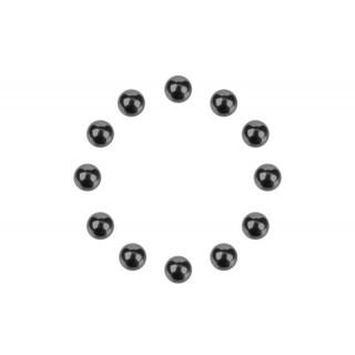 Precizní Diff. kuličky 1/8 - keramické - 12 ks.