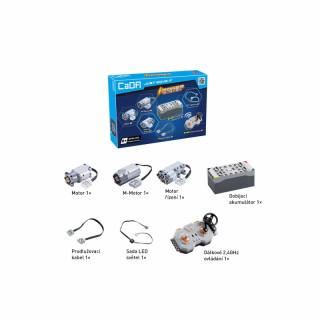 Power set systém pro CaDA stavebnice z kostek