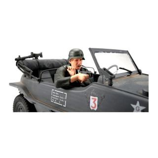 1/16 Schwimmwagen, střelec, ručně malovaný, 1 ks.