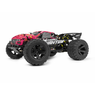 Quantum XT 1/10 4WD Stadium Truck RTR - Růžový