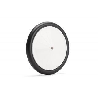 VINTAGE kola 5, 1/4 133mm, bílé disky, černé gumy, 2 ks.