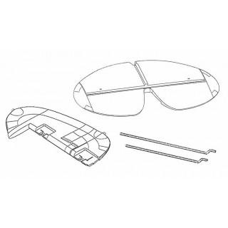 1-02056 Funcub XL výškovka a směrovka