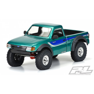 1993 Ford Ranger karoserie, čirá, pro 12.3 (313mm) Crawler