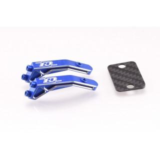 B6.2   B6.1   B6 hliníkový držák křídla, modrý