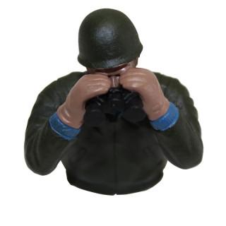 1/16 velitel amerického tanku Sherman, ručně malovaný