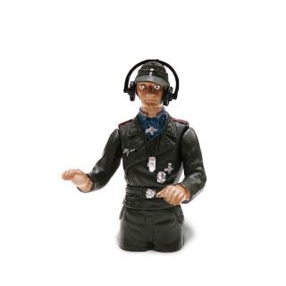 1/16 figurka německého velitele tanku z 2 sv. války, ručně malovaný