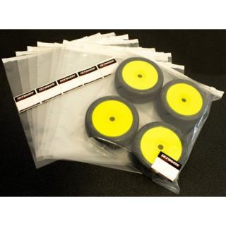 ZIP LOCK sáčky pro skladování gum včetně samolepících pop. štítků (10 ks.)