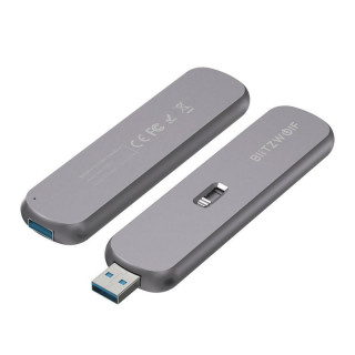 External Storage Enclosure SATA M.2 SSD BlitzWolf BW-SSDE4 B-key, 5Gbps, USB 3.1