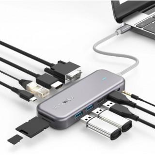 Adapter 11v1 Blitzwolf BW-TH8 Hub USB-C