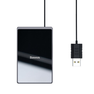 Baseus Card Wireless Qi Inductive Charger 15W (Black)