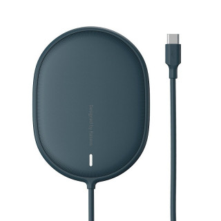 Baseus Light wireless induction charger for iPhone 12, 15W (blue)