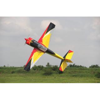 """74"""" Slick 1880mm Žluto-Červeno-Černý"""