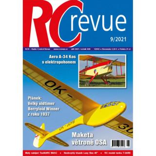 Časopis RC revue 9/2021 / RCRevue