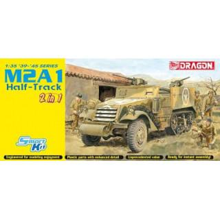 Model Kit military 6329 - M2 HALF-TRACK (2 IN 1) (SMART KIT) (1:35)