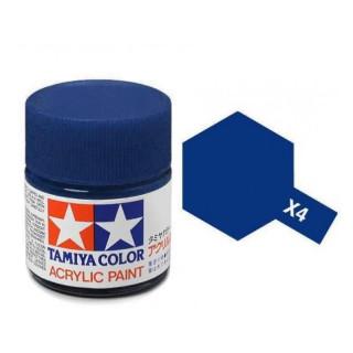 Tamiya Color X-4 Blue gloss 10ml
