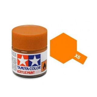 Tamiya Color X-6 Orange gloss 10ml